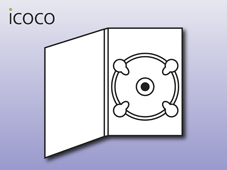 DVD-Pack, 4-seitig