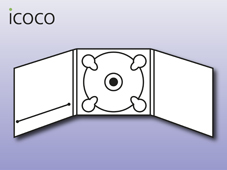 Digipack, 6-seitig, Booklet