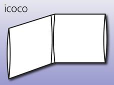 Digisleeve, 4-seitig, 2 Sleeves
