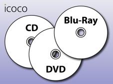 CD/DVD/BD Rohlinge