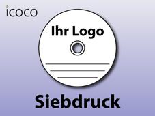 CD/DVD Siebdruck